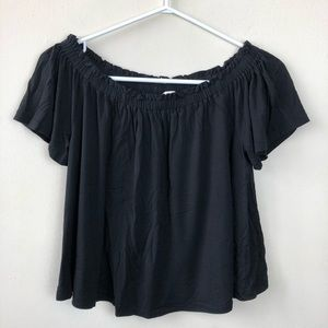 Wilfred Aritzia Size S Off The Shoulder Crop Shirt